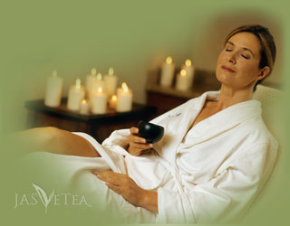 Relax, enjoy that aromatherapy after your massage or facial, and sip some of our premium teas.