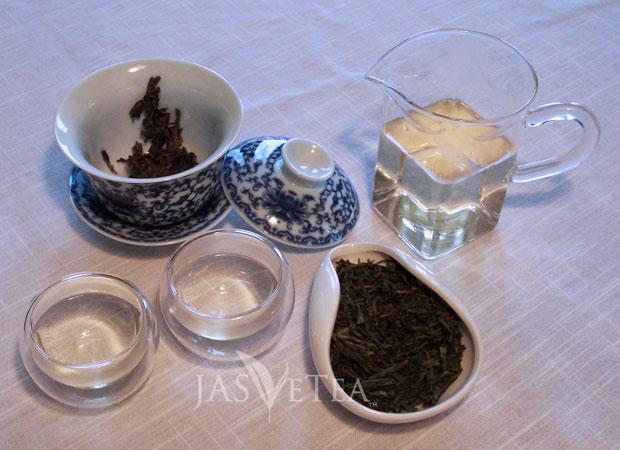 Eastern: Gaiwan, Chahai, Sipping cups
