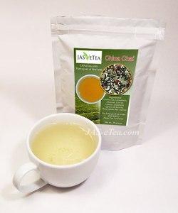 Our China Chai has a green tea base.