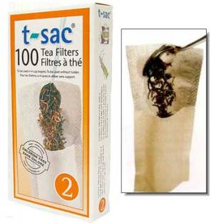 T-sacs - Size 2 (perfect for making 2 to 4 cups of tea)