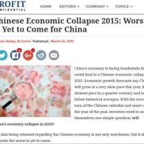 China's economy affecting tea