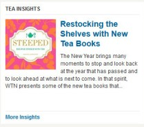 Tea books keep popping up