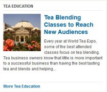 Learning new things about tea
