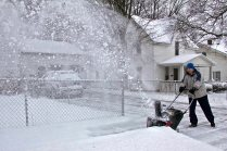 One of Winter's chores