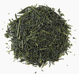 Gyokuro should be fairly intact, bright and dark green needle-shaped leaves.